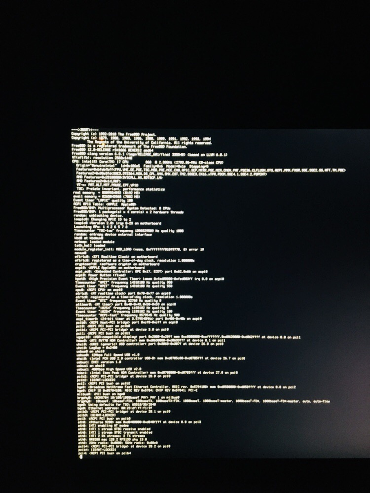 Xserver - black screen | The FreeBSD Forums