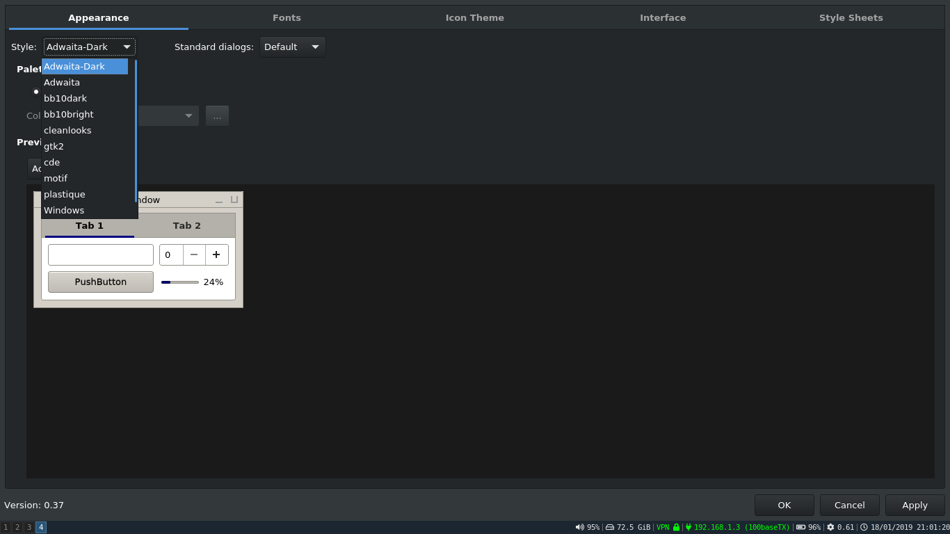 installing gtk and qt5 dark themes | The FreeBSD Forums