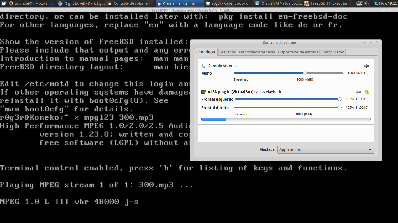 FreeBSD without audio   The FreeBSD Forums